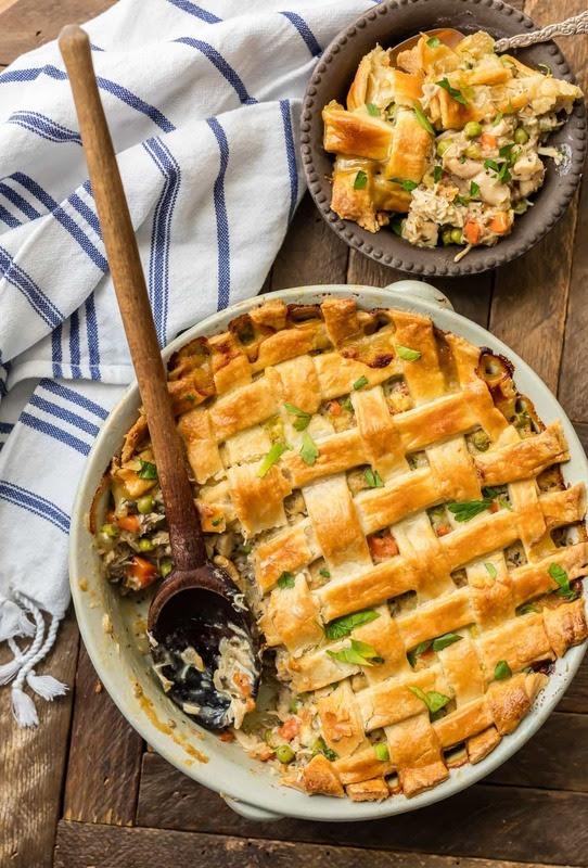 Classic Chicken Pot Pie Casserole
