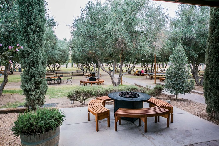 Great Outdoor Patio Dining in Queen Creek - Olive Mill
